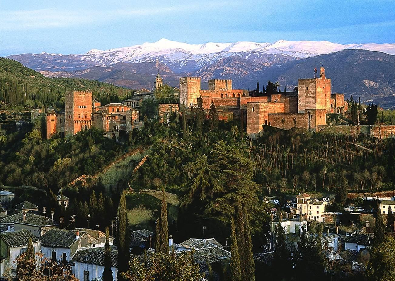 Granada - la Alambra - Sierra Morena
