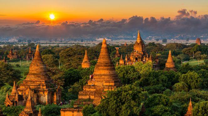 Myanmar-templos